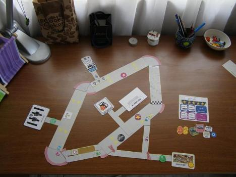 Urban Racing Boardgame Prototype_2